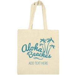 Custom Aloha Beaches Palm Trees