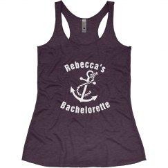 Nautical Bachelorette Tank Top