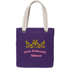 Junior Bridesmaid Totebag