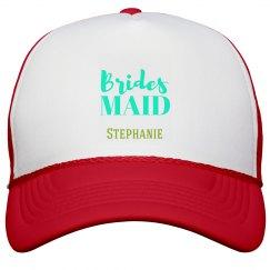 Blue Bridesmaid Hat