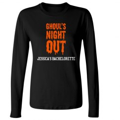 Ghouls Night Out Halloween Bachelorette
