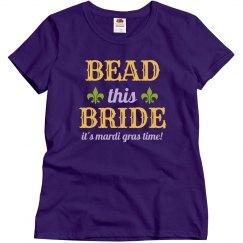 Bead This Mardi Gras Bride