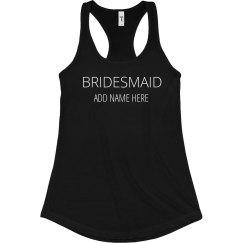 Rhinestone Bridesmaid
