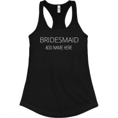 Rhinestone Bridesmaid