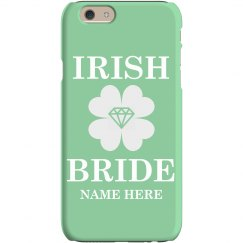 Irish Bride Phone Case