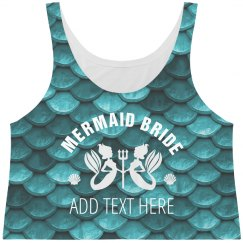 All Over Mermaid Scale Bride