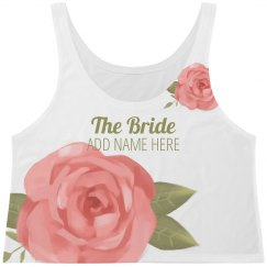 Rose Floral Trendy Bride