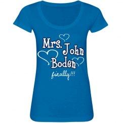 Mrs. John Boden