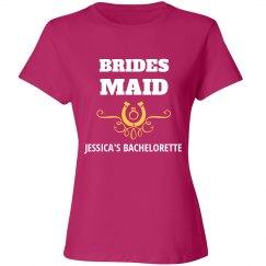 Bridesmaid Country Western