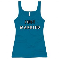 Just Married tank