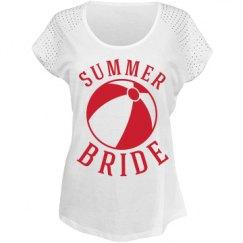 Summer bride.