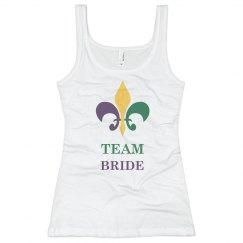Mardi Gras Team Bride