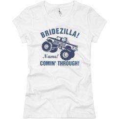 Bridezilla Coming Through