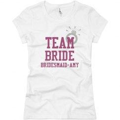 Team Bride Ring Tee
