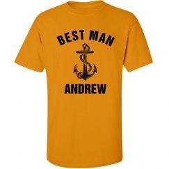 Nautical Best Man Tshirt