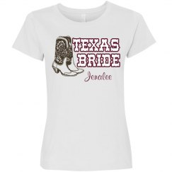 Western Bride Tee