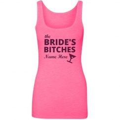 Neon Pink Brides Bitches