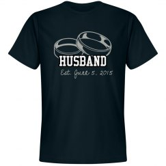 Husband est (your date here)