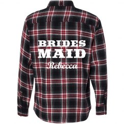 Bridesmaid Flannel Shirt