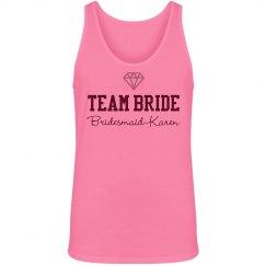 Team Bride Neon Tank