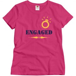 Just Engaged Tshirt