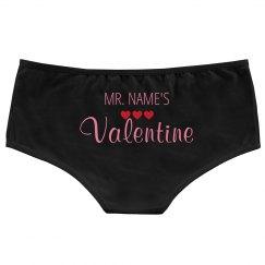 Custom Mr Valentine Heart