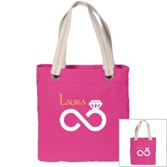 Canvas Tote Bag for Bride