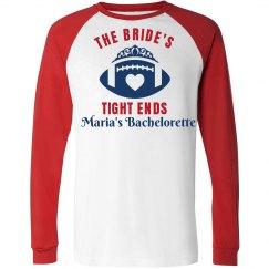 Football Bachelorette Party Shirt