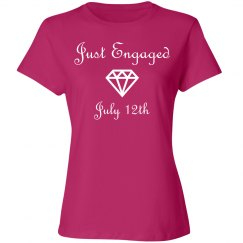 Just Engaged With Date