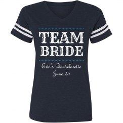 Team Bride Mixed Font