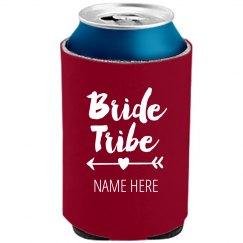 Bride Tribe Arrow Koozie