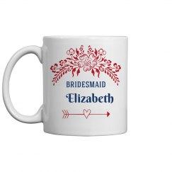 Bridesmaid Proposal Mug