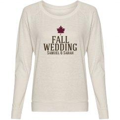 Fall Wedding Tee