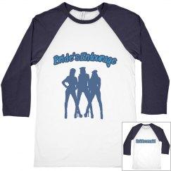 Bachelorette Party Shirts (Softball Jersey Style)
