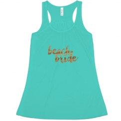 Beach Bride Tank Top