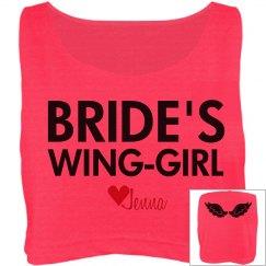 Wing-Girl w/Back