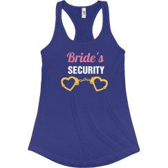 Bride's Security Tank Top