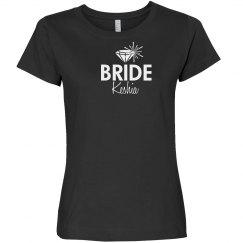 Bride Tee With Diamond