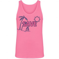 Save The Date Beach Girl