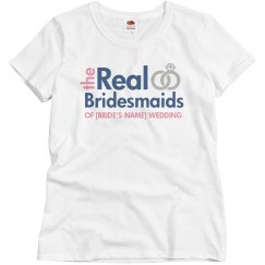 Real Bridesmaids Add Name