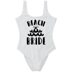 Beach Bride Bachelorette Swimsuit