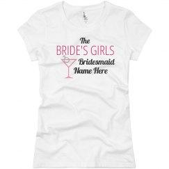 Bride's Girls Tee