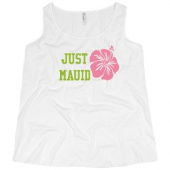Just Mauid Hawaiian Wedding Tank Top
