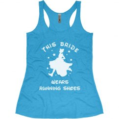 Bride In Running Shoes