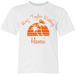 Hawaiian Wedding Youth