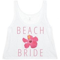 Trendy Beach Bride