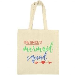 Bride's Mermaid Squad Tote