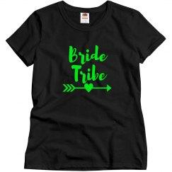 Green Bride Tribe Tshirt