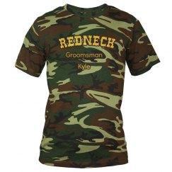 Redneck Groomsman Tee