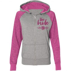 Bride Zip Hoodies